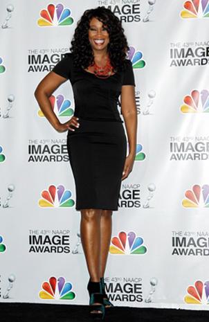 NAACP Image Awards press room