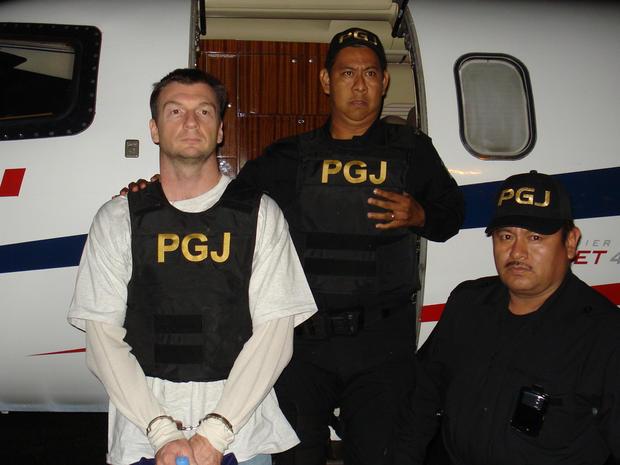 引渡后,布鲁斯·贝雷斯福德 - 雷德曼在墨西哥被拘留