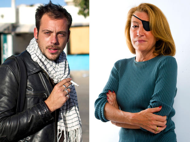 Remi Ochlik and Marie Colvin