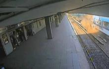 Deadly Argentina train crash surveillance video