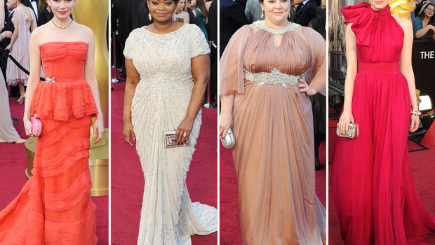 Oscars 2012 fashion: The best - and the worst - dressed stars ...