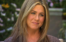 Jennifer Aniston on her new dog