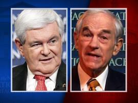 FTN - Newt Gingrich Ron Paul