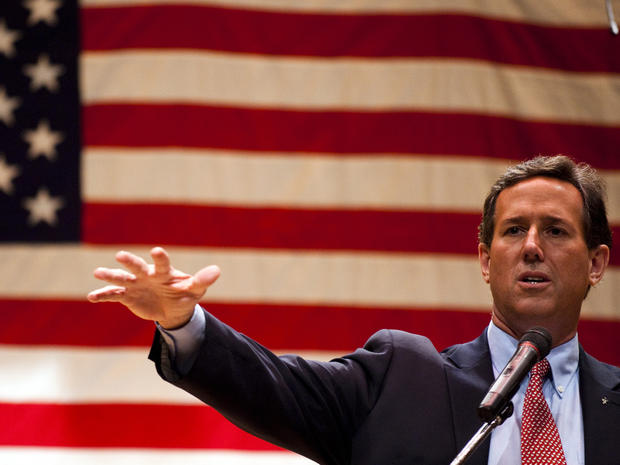 Santorum focuses on economy in Ohio