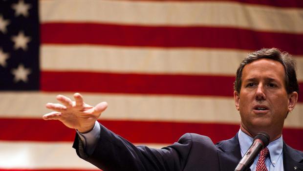 Santorum focuses on economy in Ohio
