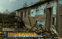Devastation in Alabama