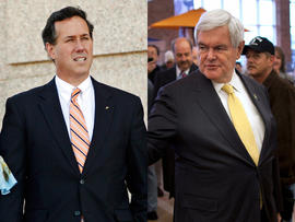 Santorum and Gingrich