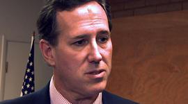 Santorum on creating high-paying manufacturing jobs