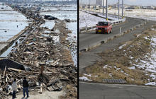 Japan tsunami recovery: Then and now