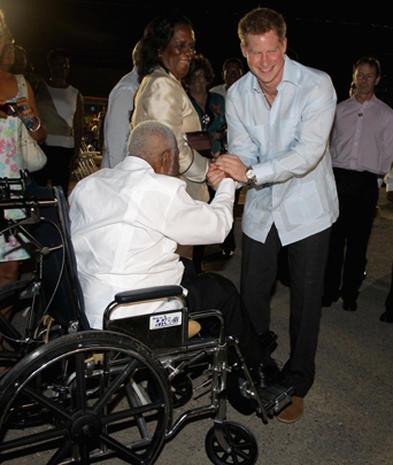 Prince Harry kicks off Diamond Jubilee tour