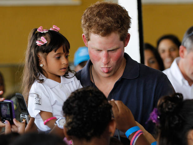 Prince Harry visits Brazil