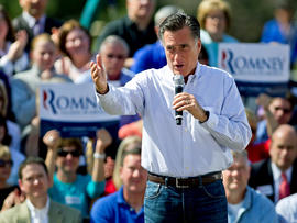 "Romney: U.S. troops stretched to ""breaking point"""