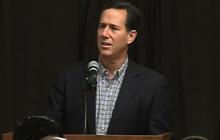 """Santorum: Romney is just a """"Wall St. financier"""""""