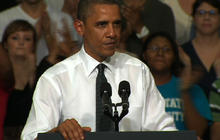 Obama to heckler: Show me some courtesy