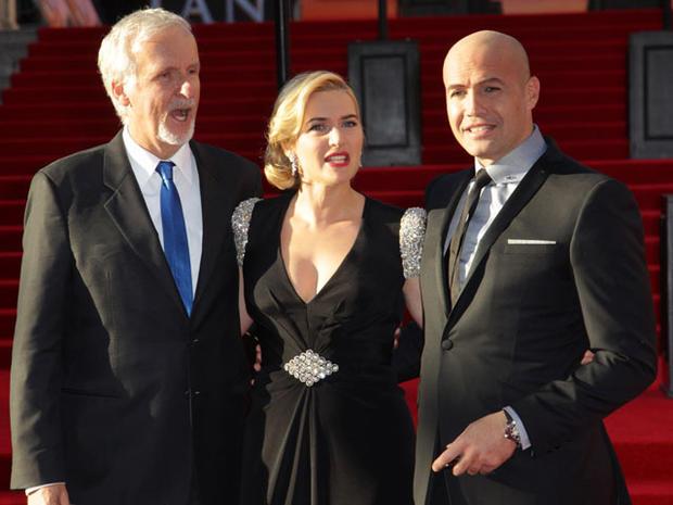 """Titanic"" 3D premieres in U.K."