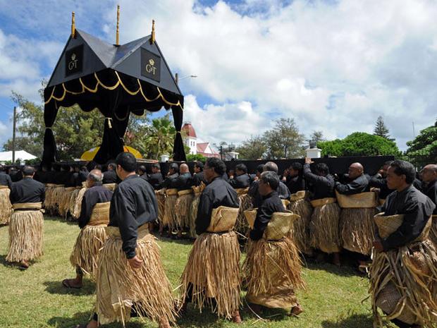 King George Tupou V of Tonga's funeral