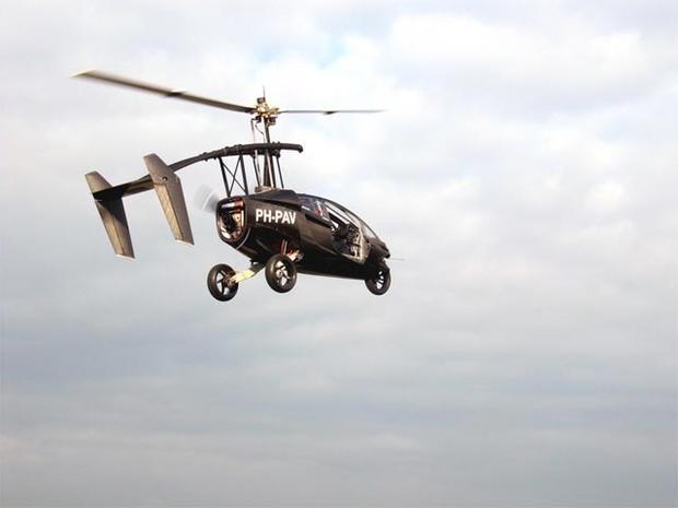 """Dutch """"Flying Car"""" takes maiden flight"""
