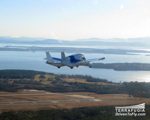 Terrafugia Transition roadable aircraft
