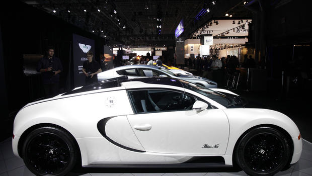 New York International Auto Show Fast cars flying cars pricey