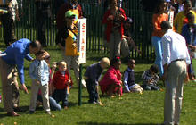 White House hosts annual Easter Egg Roll