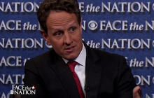 "Geithner: Romney's statements on women ""ridiculous"""