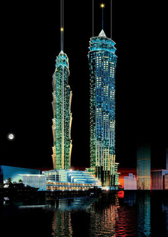 World's tallest buildings 2012