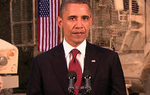 Obama addresses the nation from Afghanistan