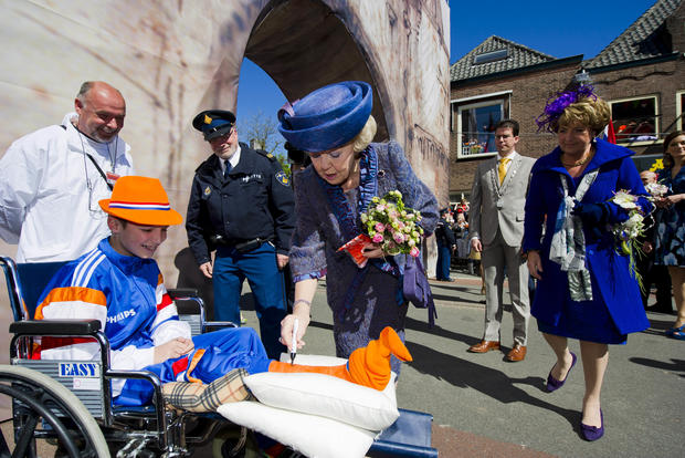 Queen's Day  2012 in the Netherlands