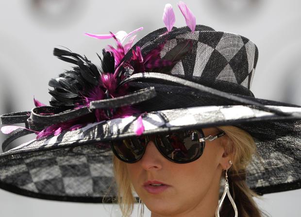 Bonnets bloom at Kentucky Derby