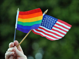 How will Obama same-sex marriage word play politically?