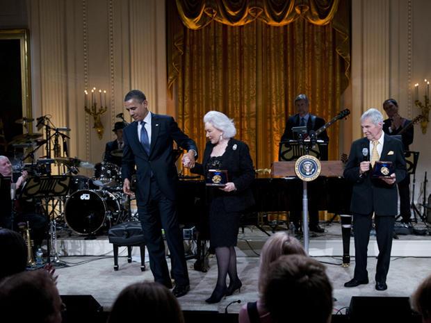 White House honors Burt Bacharach and Hal David