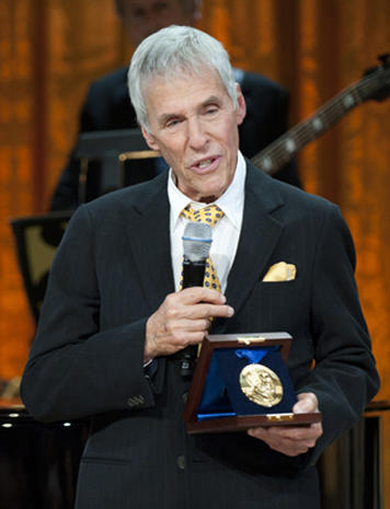 White House honors Burt Bacharach and Hal David