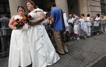 Why GOP isn't making same-sex marriage an issue