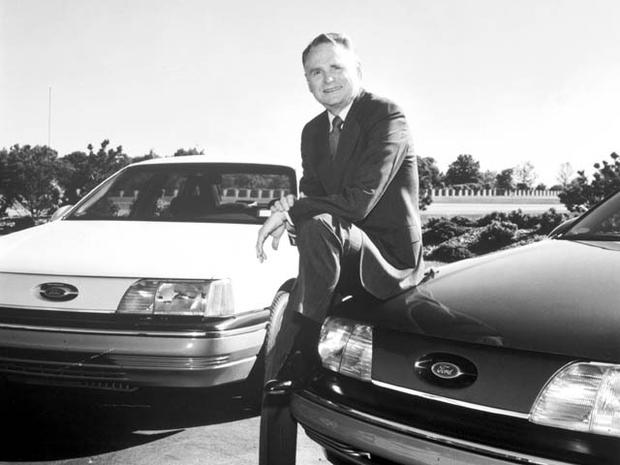 "Harold ""Red"" Poling, former Ford chairman"