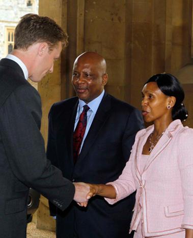 Royals celebrate Queen Elizabeth II's Diamond Jubilee