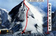 Mountaineer on dangers on Mount Everest