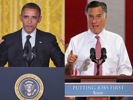 Obama, Romney go after each other