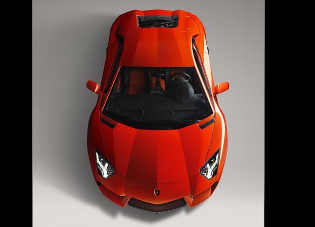 Lamborghini Aventador named best luxury car
