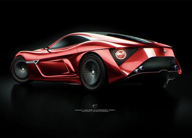 Alfa Romeo 12C GTS