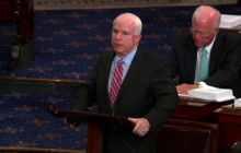 McCain blasts Obama admin for leaks on nat'l security