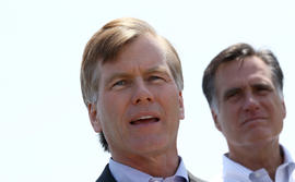 Bob McDonnell and Mitt Romney