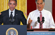 Romney, Obama - a war of words on the economy