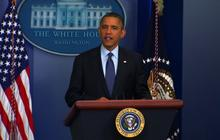 Obama talks jobs, Europe, leaks in press conference