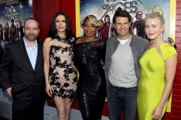 """Rock of Ages"" premieres worldwide"