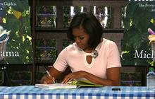 Michelle Obama has DC book signing