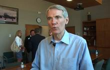Possible VP pick Portman reacts to immigration news