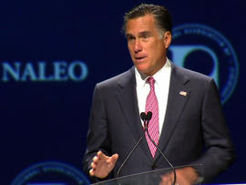 Romney lays out immigration plan