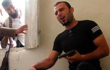 Free Syrian Army fighter sings Backstreet Boys