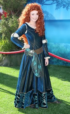 "Stars come out to ""Brave"" premiere"