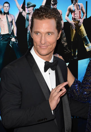 """""""Magic Mike"""" premieres in Los Angeles"""